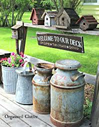 Vintage Garden Wedding Ideas Vintage Outdoor Decor Best Vintage Garden Decor Ideas On Planter