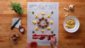 cuisine et recettes ikea invente les posters de recettes de cuisine qui vont au four