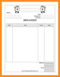 donor list template donation list template 8 free sample example