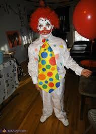 Clown Costumes Halloween Pennywise Clown Homemade Halloween Costume
