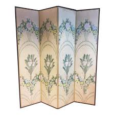 Folding Screens Room Dividers by Mid Century Asian Folding Screen Room Divider Chairish