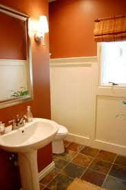 brown and white scheme best color to paint a interior room for
