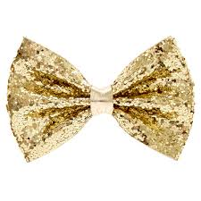 hair barrette mini gold glitter bow hair barrette s us