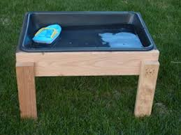 Home Depot Plastic Table Diy Kids U0027 Water Table By Inspirationthief Made For About 11 With