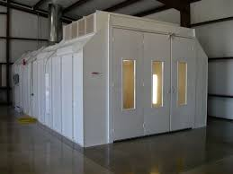 paint booths spray booths spray systems state shipping modified downdraft paint booth col met efs
