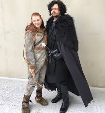 Game Thrones Halloween Costumes Khaleesi 21 Sweet Game Thrones Costume Ideas Couples Jon Snow