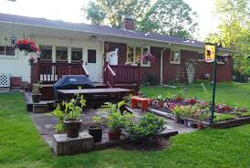 backyard privacy ideas best decking on raised deck landscaping ideas garden how to plan