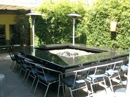 Square Patio Tables Patio Dining Table Outdoor Dining Table Pit With Large Square