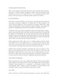 Td Bank Teller Salary Credit Union Teller Cover Letter