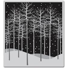 arts cling sts winter trees overstock shopping the
