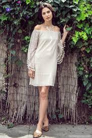 plus size boho off the shoulder lace dress white