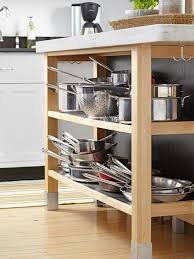 Kitchen Open Shelves Ideas by Rustic Island With Open Shelves Floating Kitchen Shelves Copper