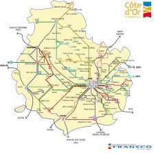 Toulouse France Map by Bus And Coach Travel In France
