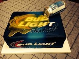 miller lite vs bud light bud light beer cake the can is made of chocolate and the beer is