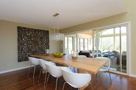 oversized dining room contemporary with edge dining table