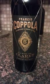francis coppola claret wine of the week francis coppola black label claret edwards