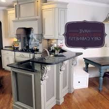 Gray Cabinet Kitchen by Gray Crown Molding Kitchen Traditional With Painted Cabinets Yeo Lab
