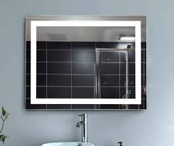 Anti Fog Mirrors For Bathroom Amazon Com H U0026a Dimmable Led Backlit Mirror Anti Fog Illuminated