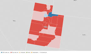 Election Map Results by Utah Election Results 2016 Live Maps Polling Analysis Schedule