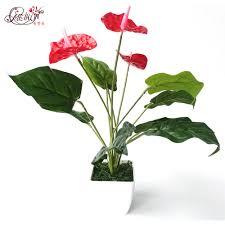 anthurium flower tree decor promotion shop for promotional