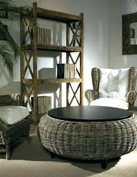 Wicker Storage Ottoman Coffee Table Rattan Ottoman Coffee Table Rattan Ottoman Coffee