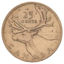 is that blitzen on our quarter the bank of canada museum
