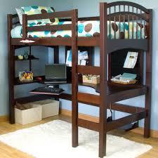 special full loft bed with desk u2014 modern storage twin bed design