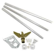 Flag Store Amazon Com Us Flag Store Residential Flagpole Kit Garden U0026 Outdoor