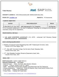 Software Testing Fresher Resume Sample by Sample Resume Software Testing Freshers