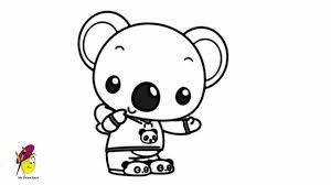 koala ni hao kai lan draw koala ni hao kai lan