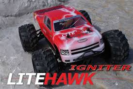 litehawk igniter 1 18 4wd rc monster truck 2 4ghz radio