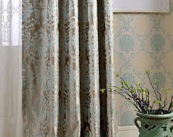 Black And Cream Damask Curtains Curtain Panels Etsy