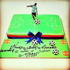 football cake customized messi football cake at rs 1500 kilogram s theme