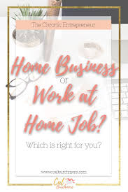 home business or work at home job direct sales and business