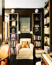 Bookcase Lamps Cozy Reading Nook My Recurring Favorite Theme Is Sconces On
