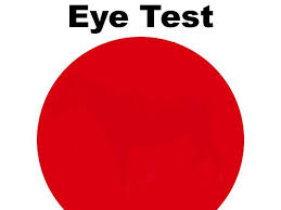 only certain people can see the hidden image inside this eye test