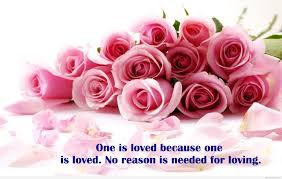 roses valentines quote