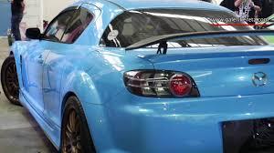 u mazda mazda rx 8 light blue galeri kereta youtube