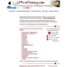 free english listening activities english listening skills