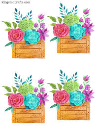 free printables floral place cards and straw toppers u2014 kingston