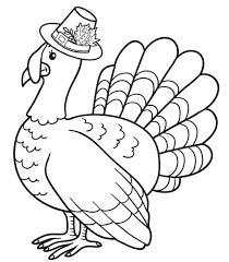 100 ideas preschool turkey coloring pages on www spectaxmas download
