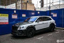 mansory bentley bentley mansory bentayga 29 june 2017 autogespot