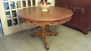 dining tables antique round oak table craigslist antique 5