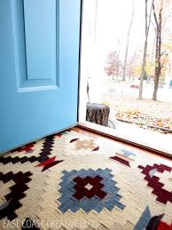 Pottery Barn Round Rug by Kilim Rug Obsessed East Coast Creative Blog