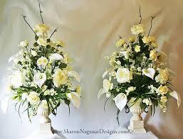 wedding altar flowers real touch silk wedding centerpieces arbor pergola altar floral