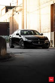 maserati ghibli grey black rims vossen wheels maserati ghibli vossen flow formed series vfs 2