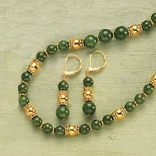jade with gold necklace images The jewelry weblog part 42 jade gold necklace designs the JPEG