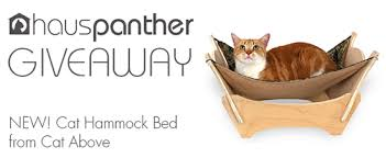 enter to win the new cat hammock bed from cat above plus 15