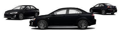 black mitsubishi lancer 2016 mitsubishi lancer es 4dr sedan 5m research groovecar