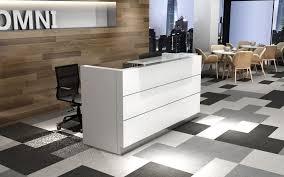 Mobile Reception Desk Reception Desk With Mobile Pedestal Omni Office Furniture Vancouver